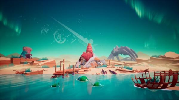 Photo of Анонсирована Solar Ash Kingdom — новая игра от авторов Hyper Light Drifter. Похоже, это эксклюзив Epic Games Store