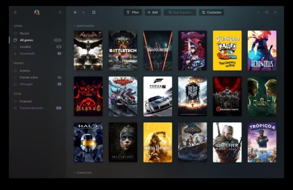 Анонс GOG Galaxy 2.0 — сервиса, который объединит друзей и библиотеки игр с разных платформ1