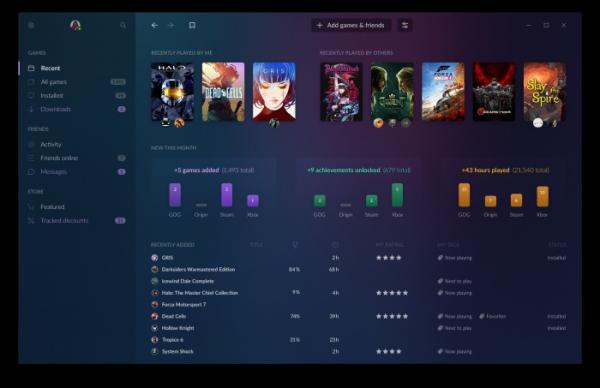 Анонс GOG Galaxy 2.0 — сервиса, который объединит друзей и библиотеки игр с разных платформ0