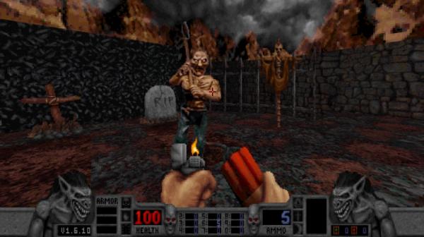 Калеб возвращается — в Steam и GOG.com вышло переиздание классического боевика Blood2