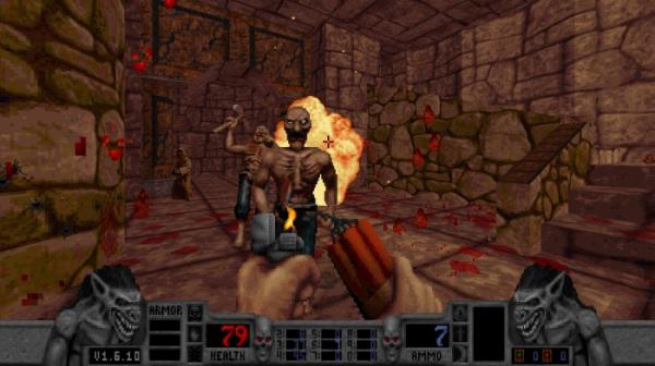 Калеб возвращается — в Steam и GOG.com вышло переиздание классического боевика Blood6