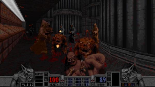 Калеб возвращается — в Steam и GOG.com вышло переиздание классического боевика Blood9