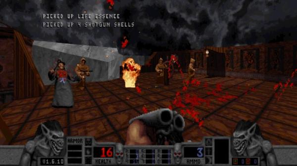 Калеб возвращается — в Steam и GOG.com вышло переиздание классического боевика Blood5