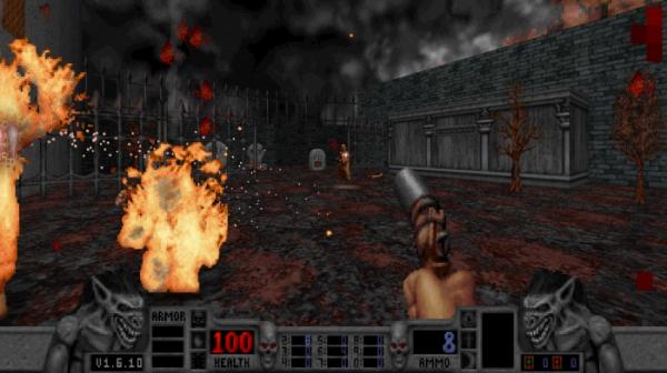 Калеб возвращается — в Steam и GOG.com вышло переиздание классического боевика Blood3