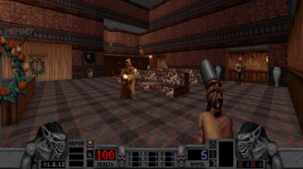 Калеб возвращается — в Steam и GOG.com вышло переиздание классического боевика Blood4