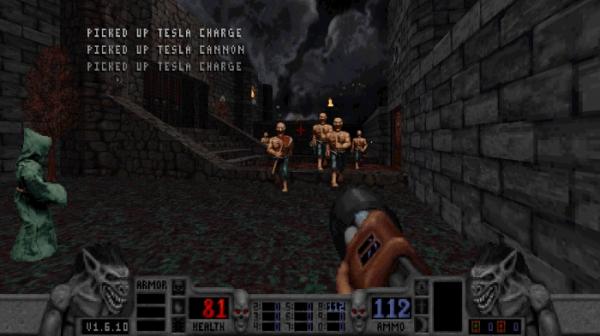 Калеб возвращается — в Steam и GOG.com вышло переиздание классического боевика Blood11