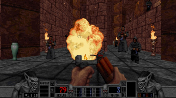 Калеб возвращается — в Steam и GOG.com вышло переиздание классического боевика Blood7