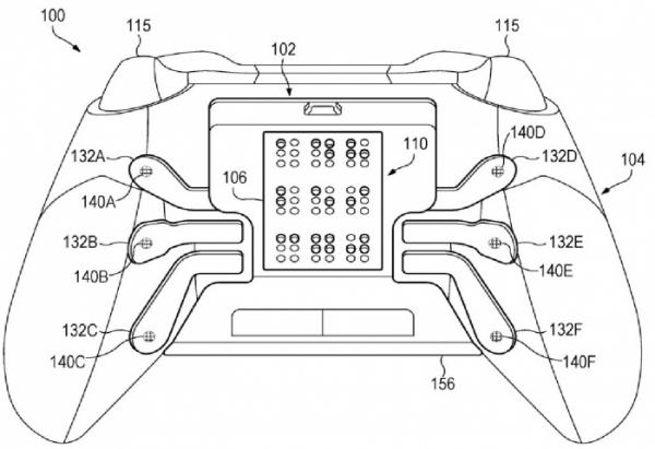 Microsoft запатентовала геймпад с тактильной панелью для слепых0