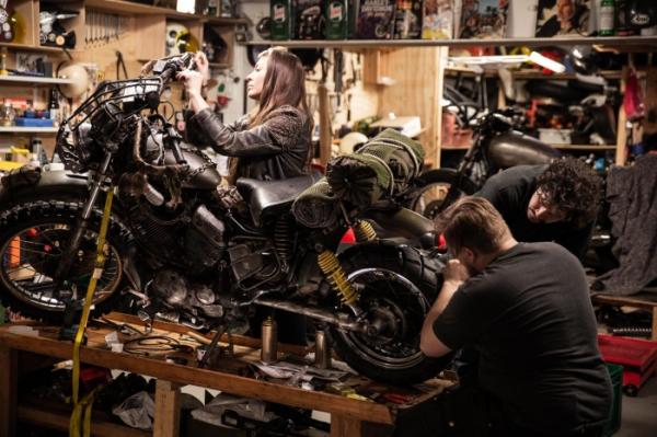 PlayStation Nordic воссоздала мотоцикл из Days Gone в реальной жизни4