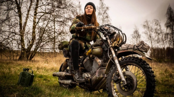 PlayStation Nordic воссоздала мотоцикл из Days Gone в реальной жизни0