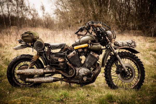 PlayStation Nordic воссоздала мотоцикл из Days Gone в реальной жизни5