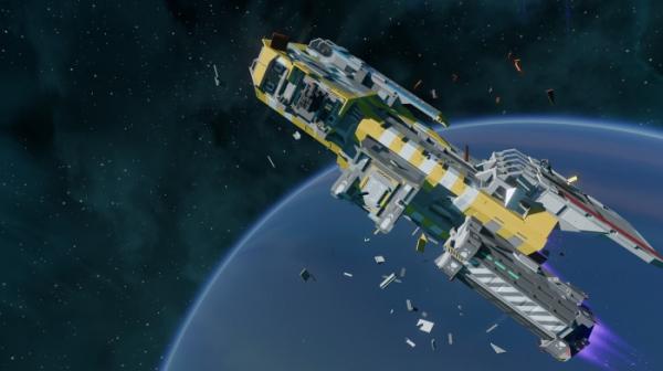 Создатели Trine представили Starbase — космическую MMO с полной разрушаемостью и вдумчивым строительством кораблей0