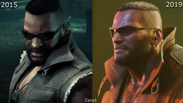 Сравнение двух версий ремейка Final Fantasy VII — из 2015-го и 2019-го2