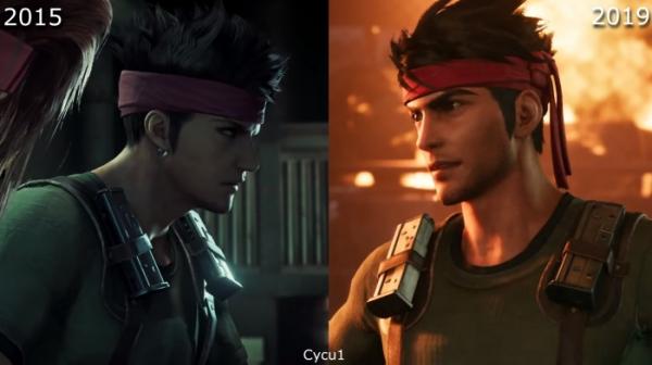 Сравнение двух версий ремейка Final Fantasy VII — из 2015-го и 2019-го0
