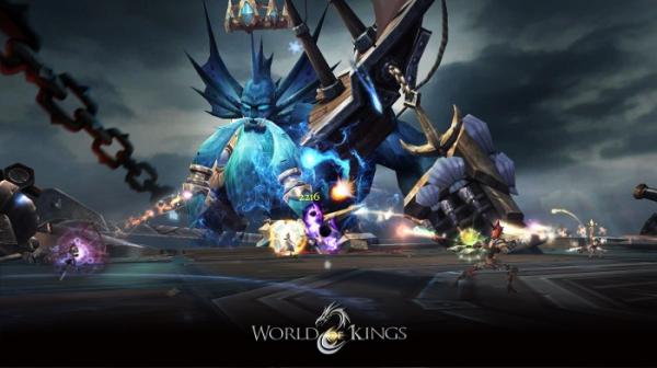 В App Store и Google Play вышла World of Kings — масштабная MMORPG с PvP и подземельями11