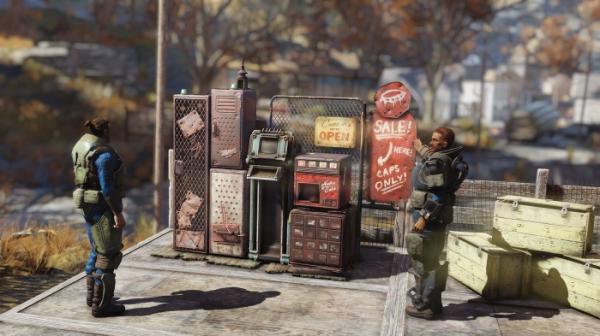В Fallout 76 появились пользовательские магазины, но Bethesda облагает их налогом. Игроки не рады0