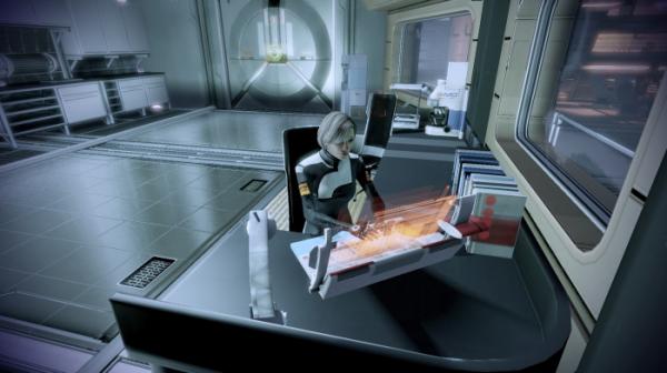 Моддер добавил в Mass Effect 2 вид от первого лица6