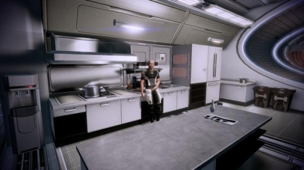 Моддер добавил в Mass Effect 2 вид от первого лица9