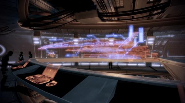 Моддер добавил в Mass Effect 2 вид от первого лица19