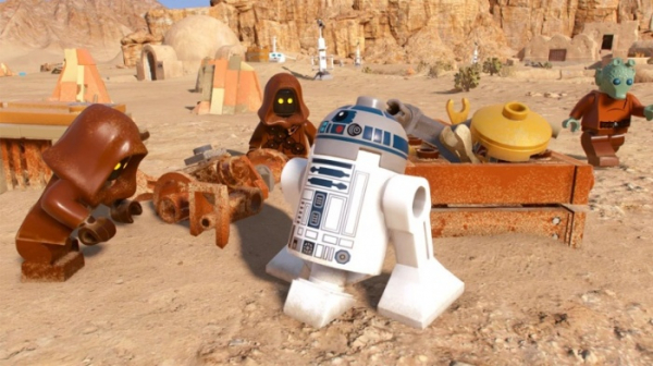 Несколько открытых миров, случайные события и камера за спиной — инновации в LEGO Star Wars: The Skywalker Saga3