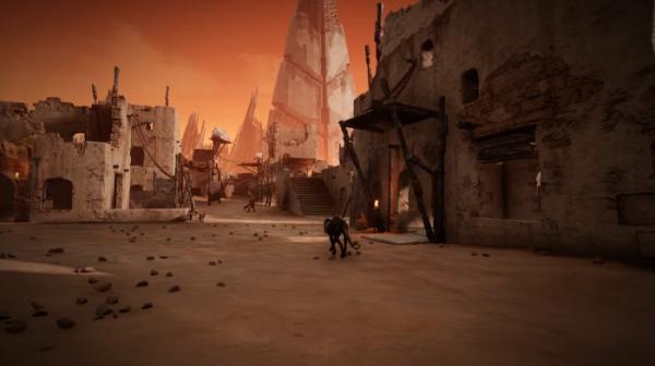 Трейлер пустынного мира Ром из Remnant: From the Ashes7
