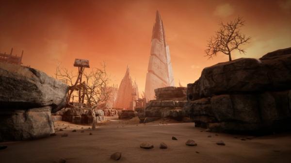 Трейлер пустынного мира Ром из Remnant: From the Ashes1