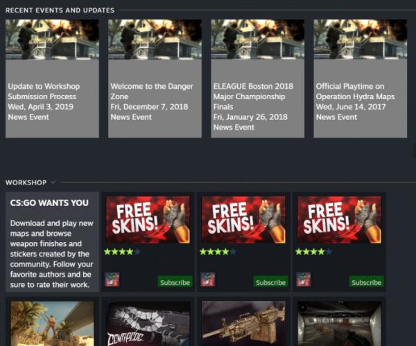 Утечка: свежие скриншоты обновлённого интерфейса Steam3