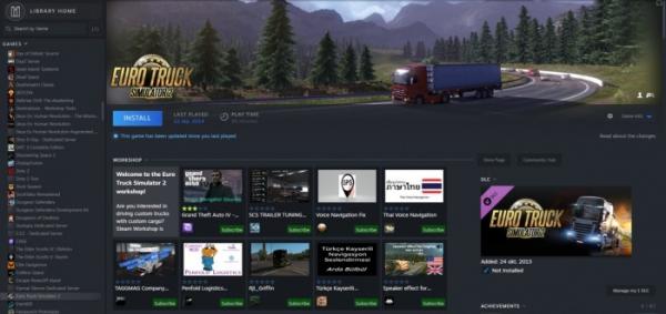 Утечка: свежие скриншоты обновлённого интерфейса Steam1
