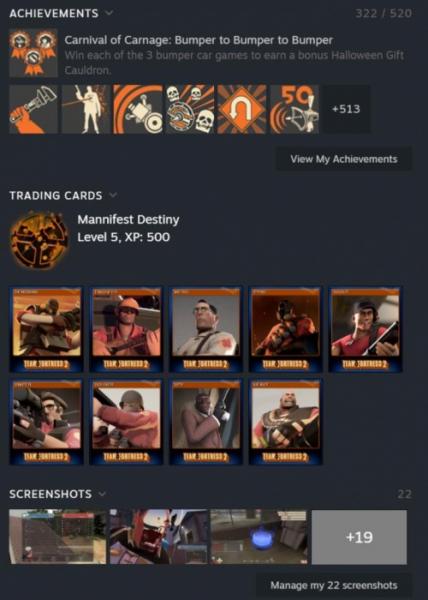 Утечка: свежие скриншоты обновлённого интерфейса Steam2