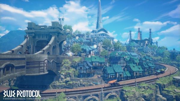 Первые подробности об аниме-экшене Blue Protocol: трейлер, скриншоты и информация о сюжете9
