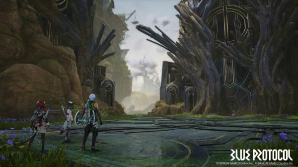 Первые подробности об аниме-экшене Blue Protocol: трейлер, скриншоты и информация о сюжете3