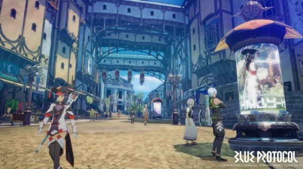 Photo of Первые подробности об аниме-экшене Blue Protocol: трейлер, скриншоты и информация о сюжете