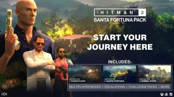 У HITMAN 2 появилось бюджетное издание с уровнем в Санта-Фортуне0