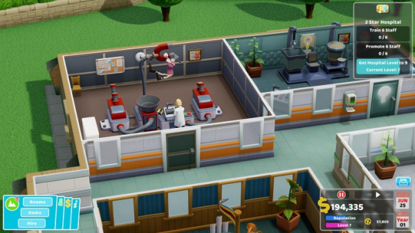 В этом году симулятор потешной больницы Two Point Hospital появится на консолях4