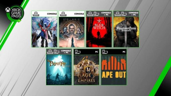 Другие новости с Inside Xbox: трейлеры Wasteland 3 и Empire of Sin, DMC5 в Xbox Game Pass и не только0