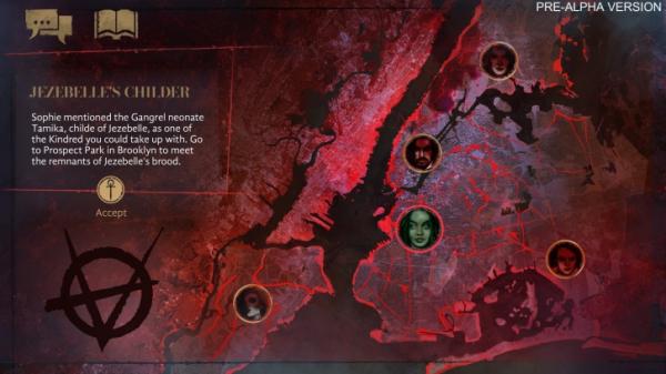 Свежие скриншоты и подробности о визуальной новелле Vampire: The Masquerade — Coteries of New York1