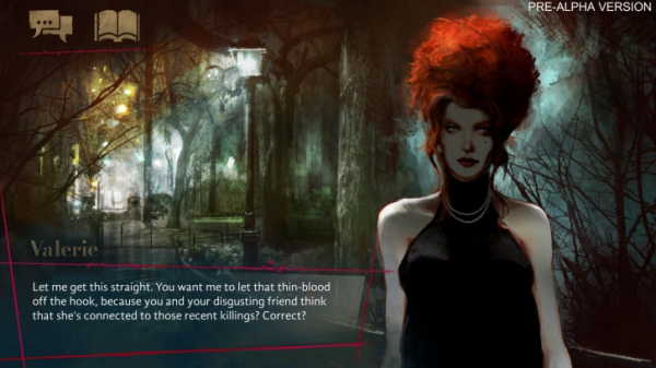 Свежие скриншоты и подробности о визуальной новелле Vampire: The Masquerade — Coteries of New York0