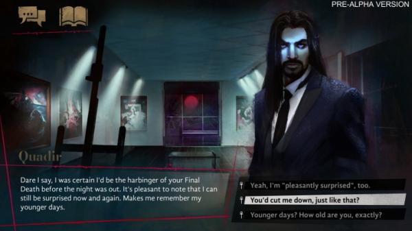 Свежие скриншоты и подробности о визуальной новелле Vampire: The Masquerade — Coteries of New York2