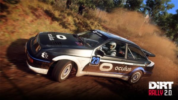 В DiRT Rally 2.0 появилась поддержка виртуальной реальности0