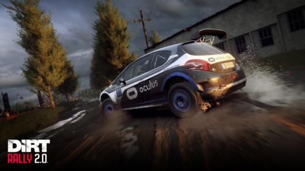 В DiRT Rally 2.0 появилась поддержка виртуальной реальности1