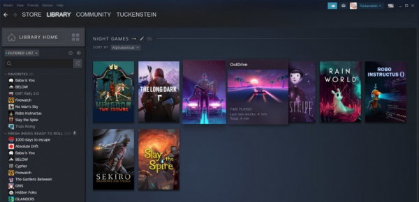 «Бета» обновлённой библиотеки Steam стартует 17 сентября0