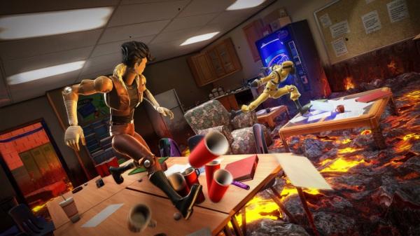 Photo of Mirror's Edge в мире детских фантазий — 19 сентября выйдет паркур-экшен Hot Lava от создателей Mark of the Ninja и Don't Starve