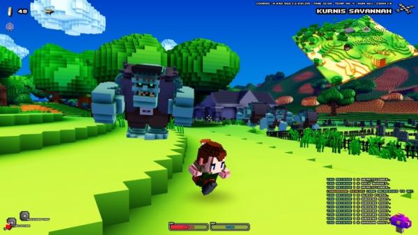 Спустя годы молчания воксельная экшен-RPG Cube World стартует в Steam6
