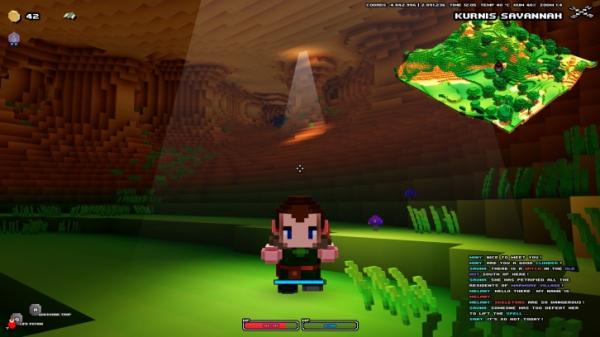 Спустя годы молчания воксельная экшен-RPG Cube World стартует в Steam0