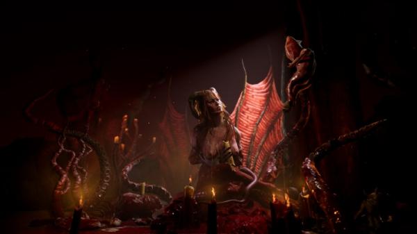 Свежие скриншоты из игры о соблазнительной дьяволице Succubus2
