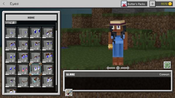 В Minecraft появилась система внешней кастомизации персонажа2