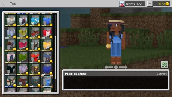 В Minecraft появилась система внешней кастомизации персонажа3