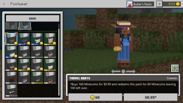 В Minecraft появилась система внешней кастомизации персонажа4