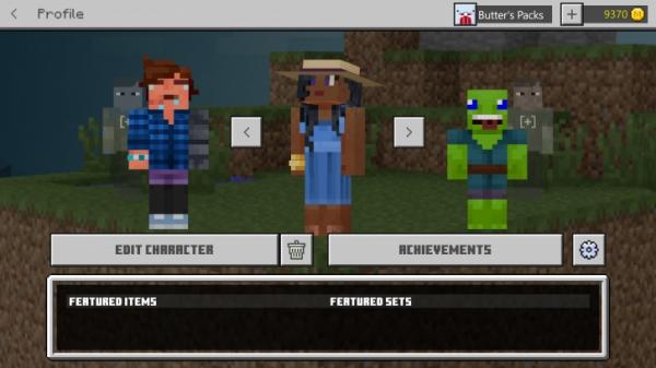 В Minecraft появилась система внешней кастомизации персонажа0