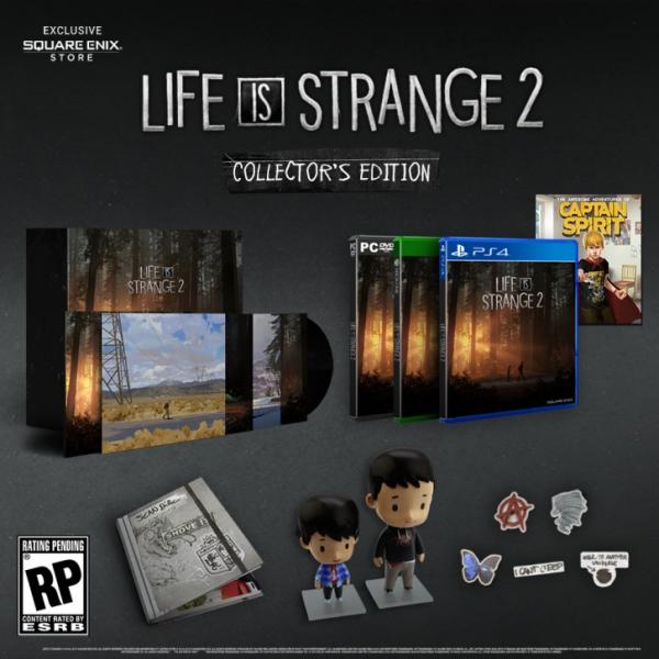 Life is Strange 2 получит стандартное и коллекционное физические издания1